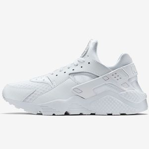 Nike Air Hurrache White athletic Unisex Sneakers